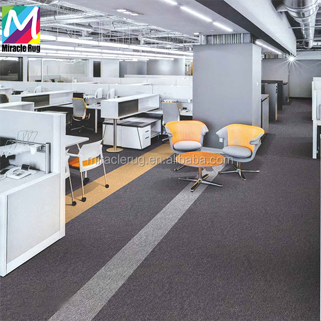 New Design Office Conference Room Carpet Fireproof Carpet Tile Square Carpet for Office