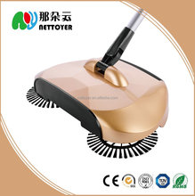 Cleaning product sweeper floor cleaning machine, floor aluminum cleaning sweeper with no electricity