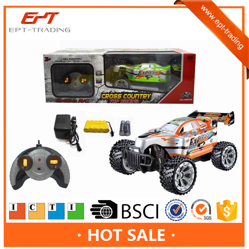 Crazy kids electric remote control toy rc cross country car