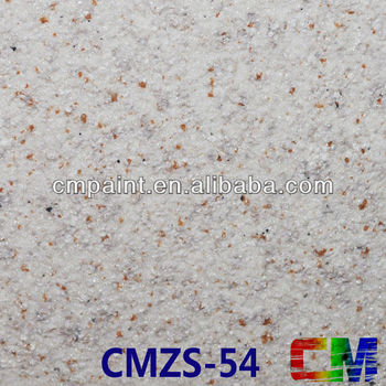 CMZS-53 Acrylic granite rough texture spray interior & exterior paint