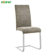 Comfortable colored fabric chair hot selling dining furture