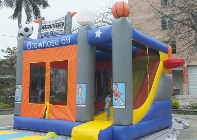 Hot sale inflatable Scoreboard commercial inflatable castle