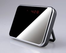 Wireless WIFI 1080P Desk Clock Spy Hidden Camera with TF card slot