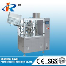 NF-60A Small Automatic Toothpaste Soft Plastic Tube Filling Machine
