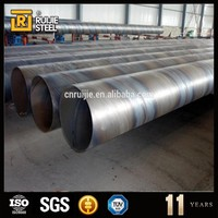 pvc coated steel spiral pipe,prime spiral steel pipe,api 5l x42 spiral welded steel pipes