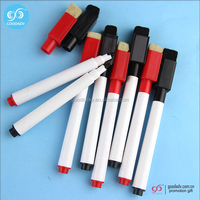 Guangdong wholesale promotional gifts felt tip erasable marker pen washable markers