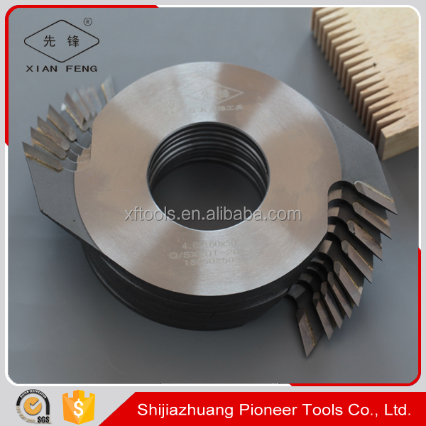 woodworking machinery parts wood finger joint cutter tool