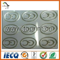 Certificates Use Label Ce Label For Products Silver Stamping
