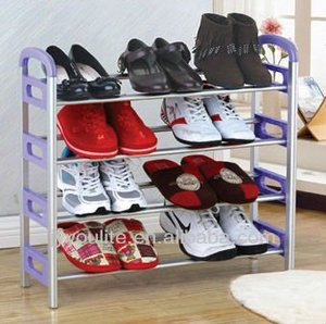 modern new style of bedroom shoe cubby storage shelf