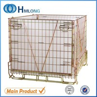 600kg loading PET preform storage china wire container