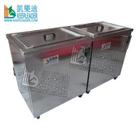 Mobile phone ultrasonic cleaner to clean mobile phone components