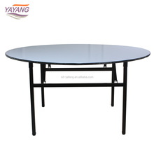 Popular high quality restaurant folding wedding round banquet table