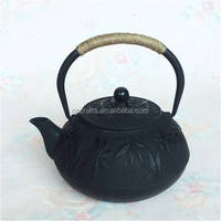 Cast iron teapot made in China for health drinking for Chinese tea