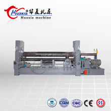 Hydraulic Sheet Metal Bending Automatic Steel Plate 4 Roller Rolling Machine