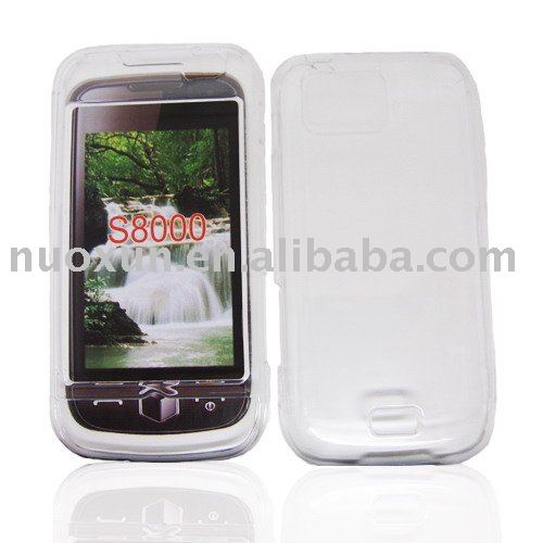 Hot Sell Soft TPU Cell Phone Covers for Samsung S8000