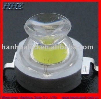 ISO9001 Supplier 3w white 175 degrees high power led