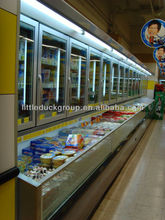 glass door display freezer with vertical glass doors-ST.PAWL