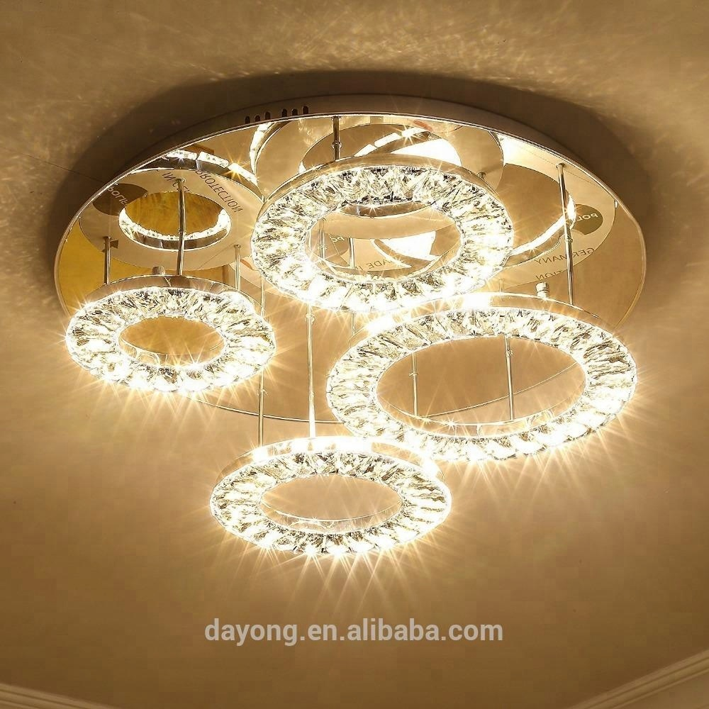 Led Lamps Luminaire Murano Glass Chandelier Light