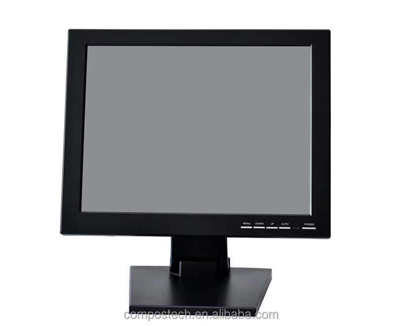 15 inch Resistive LED Touch Screen Monitor Touch LED Monitor