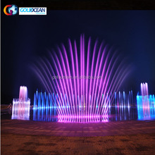 Straight Shooting Floor Fountain Programmable Water Fountain