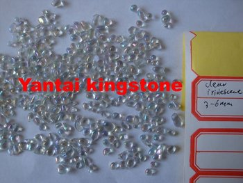 iridescent glass pebbles for pool or wall,flooring concrete coatings