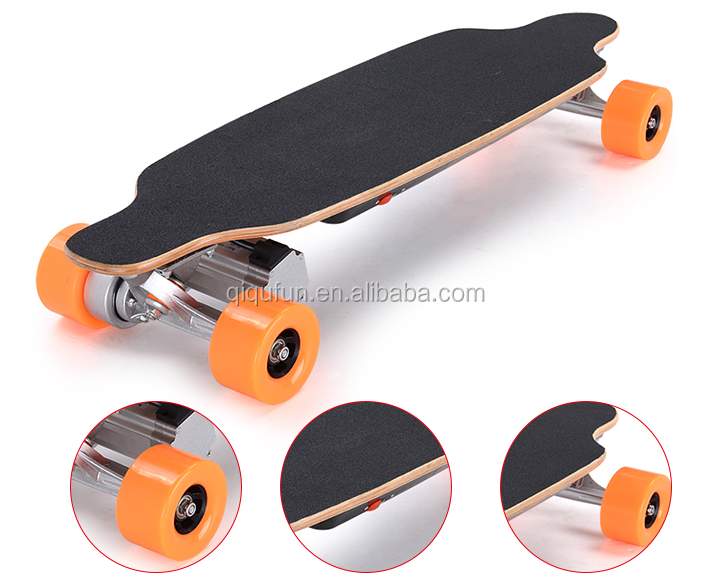 2015 Factory interesting new style motorized skateboard