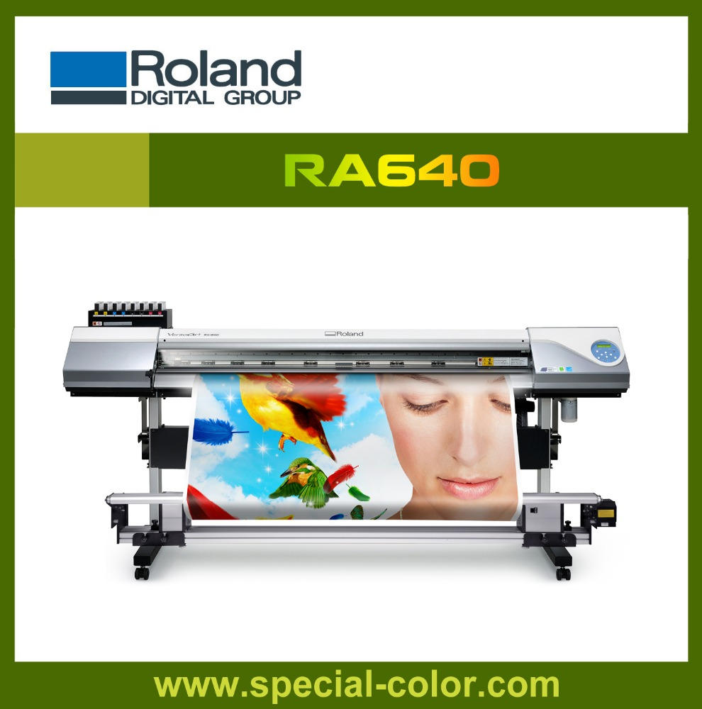 Wide Format Printer Inkjet Printer Eco-solvent Printer Roland RA640 for the Second Hand