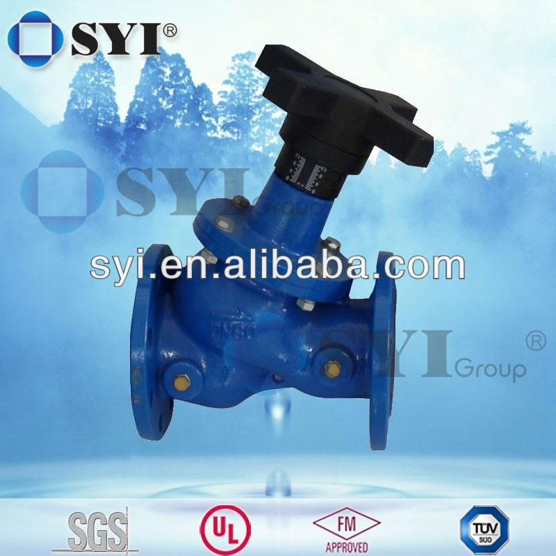 pneumatic cage guided globe valve - SYI GROUP