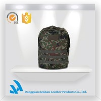 Camouflage Nylon durable army camping&hiking backpack for teens