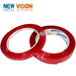 Super strong propyl acid 3M transparent tape red film/liner clear/transparent adhesive foam tape