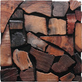 Navilla Old ship wood mosaic wall panel sheet for gym decoration