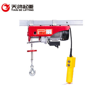 Hot Sale Mini Crane PA Electric Wire Rope Hoist With Up And Down Limit Device Made In China Manufacturer