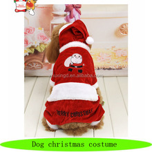 Wholesale dog christmas costume, pet xmas costume, christmas pet
