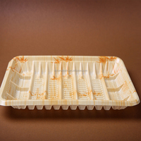 disposable plastic tray frozen food container food packaging PS material