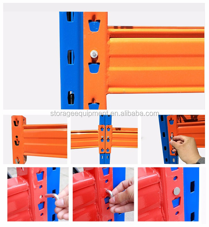 2017 Amazing hot selling heavy duty warehouse pallet rack with loading 1000kg