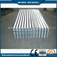 Zinc coating 40g/m2 size 0.4*814 mm galvanized corrugated roofing sheets for supermarket