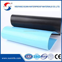 1.5 mm PVC flat roofing sheets waterproofing membrane building material