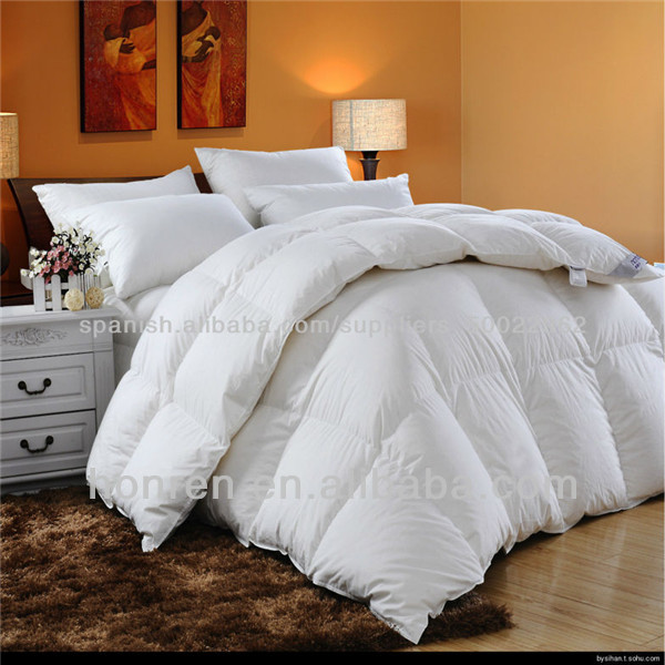 pure white goose down comforter