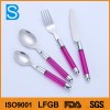 Good Price Stainless Steel Cutlery With Plastic Handle\Fruit Knife Japanese Fork