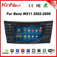 Kirinavi WC-MB7501 Android 5.1 multimedia system car radio 2 din for mercedes-benz w211 2002-2008 e class dvd gps
