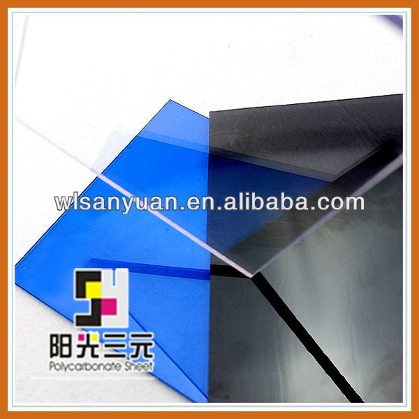 Lexan polycarbonate sheet is amorphous thermoplastic material is no good;Polycarbonate