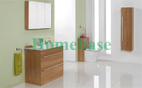 MFC OAK bathroom cabinet bath vanity for hotel from Shanghai China