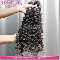 new arrival thick cheapest price peruvian hair loose deep wave