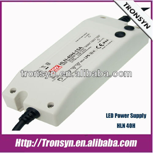MeanWell Power Supply HLN-40H-24(40W 24V) Single Output Dimming LED Switching Power Supply and LED Driver