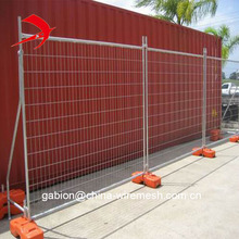 Galvanized Australia temporary 60*150mm mesh opening portable fencing free sample panel