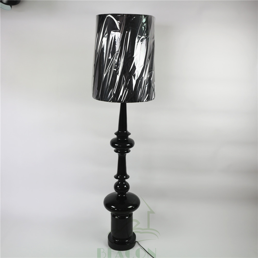 Best price resin large floor lamps fashion designed wholesale