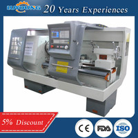 High Quality Low Price CNC Pipe Threading Machine QK1322 Oil Country Lathe machine for sale
