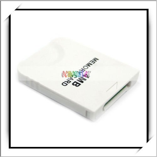 4MB Memory Card For Wii And GameCube Console