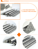 Factory excellent quality tungsten carbide welding rod, solide cemented carbide welding rods