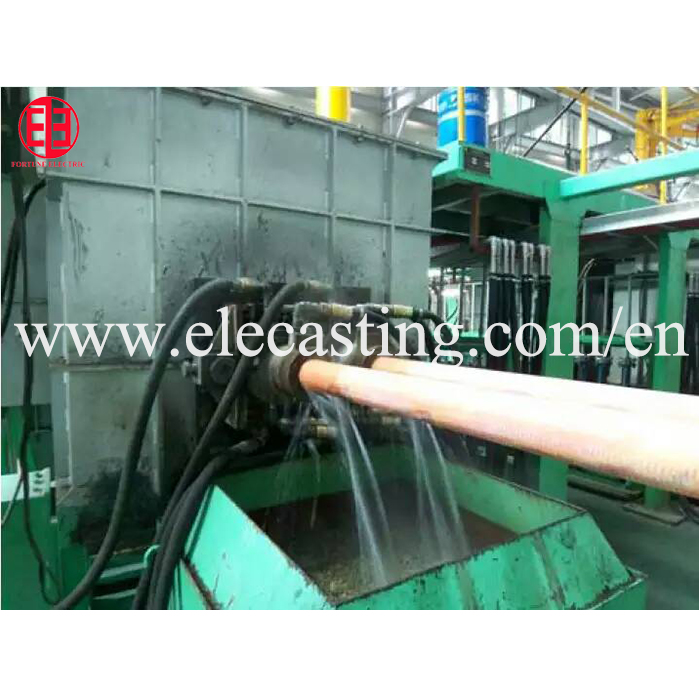 Copper tube manufacturing horizontal continuous casting making machine